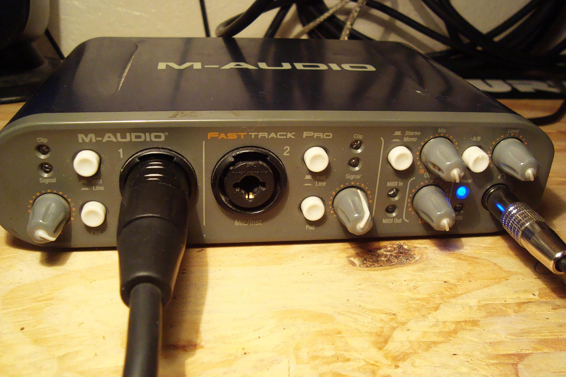 M-Audio Fast Track C400 DFU Driver
